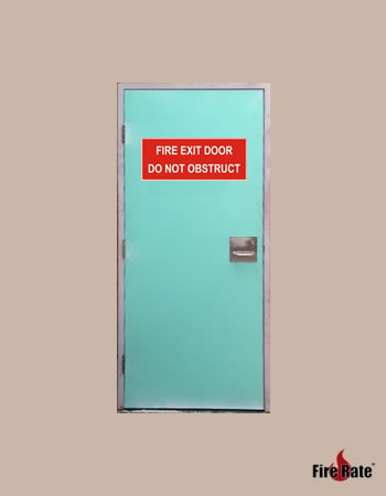 External Fire Exit Door
