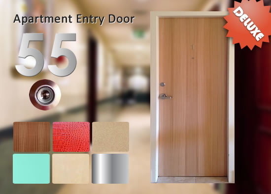 Apartment Entry Fire Doors Deluxe Package