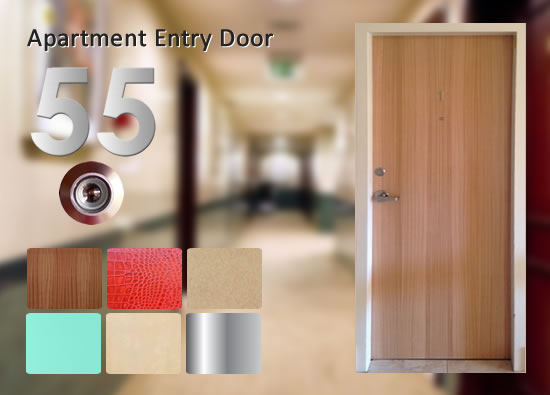 & Apartment Entry Fire Door Package