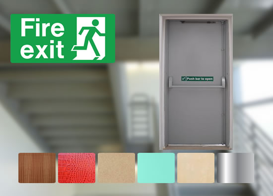 Fire Exit Staircase Door Package